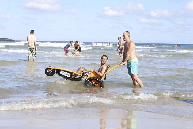 Guarujá - praia acessível
